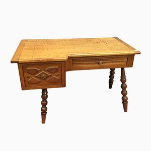 Schreibtisch aus Eiche, 1960er