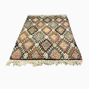 Marokkanischer Vintage Berber Beni Ouarain Shag Langhaar-Wollteppich, 1963