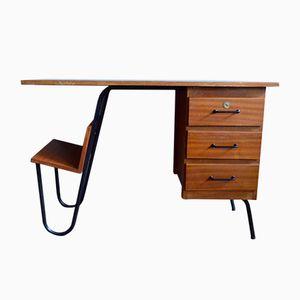 Französischer Mid-Century Schreibtisch