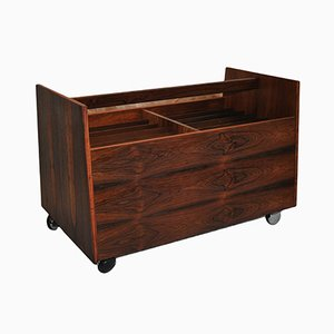 Scala Rosewood Cart by Rolf Hesland for Bruksbo