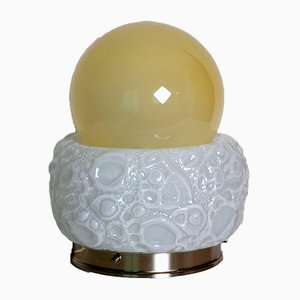 Model Osso Murano Glass Table Lamp from Mazzega, 1970s