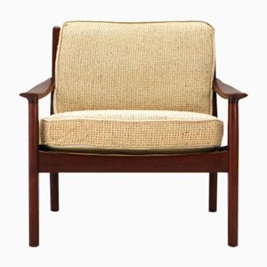 Mid-Century Teak Easy Chair, 1960s