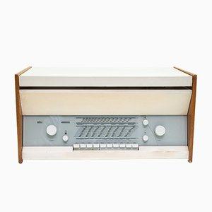 Radio e giradischi serie Atelier 1-81 di Dieter Rams per Braun, 1969