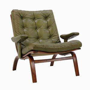 Mid-Century Lounge Chair by Gote Mobler, 1970s