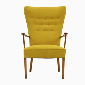 Mid-Century Danish Wing Chair, 1960s