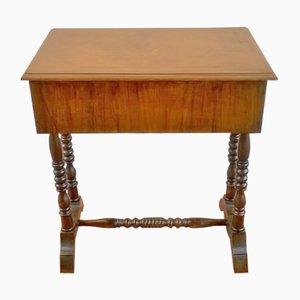 Tavolo da cucito antico, fine XIX secolo