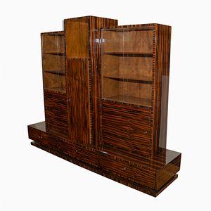 Funktionalistisches Bücherregal aus Makassar von Vlastimil Brozek, 1930er