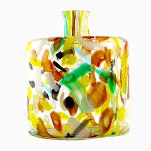 Bottiglia in vetro di Murano, anni '70