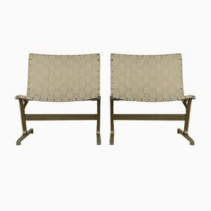 Vintage PLR1 Stühle von Ross Littell für ICF, 2er Set