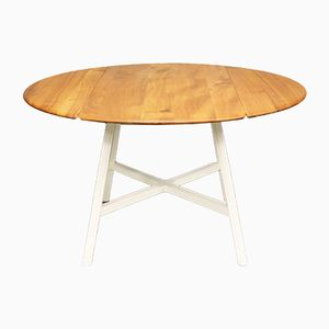 Mid-Century Elm Dining Table from Ercol