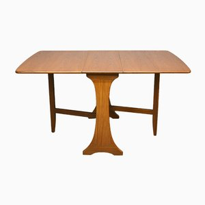 Mid-Century Teak Drop-Down Leaf Table from G-Plan