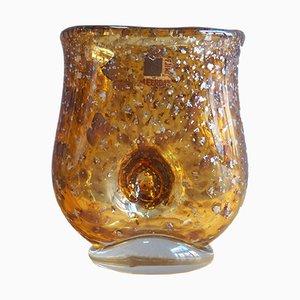 Mundgeblasene M167 Unica Vase von A.D. Copier für Glasfabriek Leerdam, 1930er