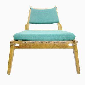 Mid-Century Oak Chair from Hellerau
