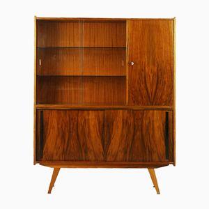 Beech Cabinet by Słupskie Fabryki Mebli, 1960s
