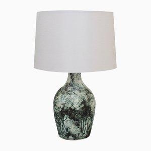 Keramik Tischlampe von Jacques Blin, 1950er