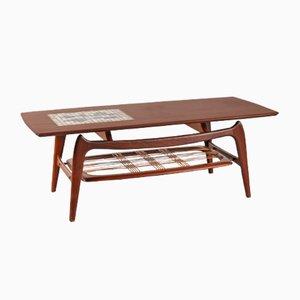 Table Basse par Louis van Teeffelen pour WéBé, Pays-Bas, 1950s