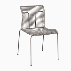 Wire Metal Side Chair by Niall O'Flynn for 't Spectrum, 1970s