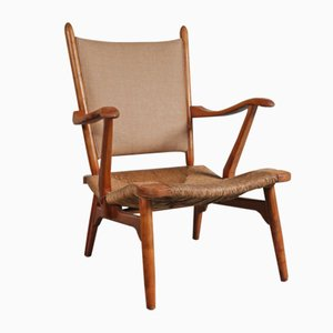 Dutch Lounge Chair from De Ster Gelderland, 1950s