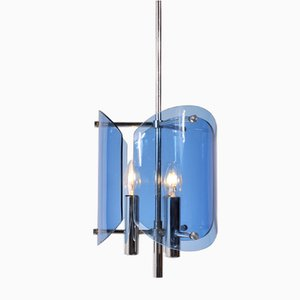 Italian Modern Hanging Lamp from Veca, 1960s