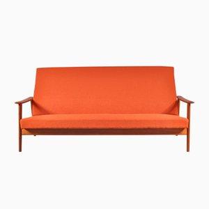 Skandinavisches Drei-Sitzer Sofa, 1950er