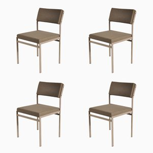 Modernist Dining Chairs by Cees Braaman for Pastoe, 1960s, Set of 4