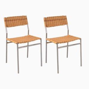 Minimalistische Esszimmerstühle von Martin Visser für 't Spectrum, 1960er, 2er Set