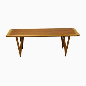Table Basse en Teck & Chêne par Birger Larssons pour Birger Larsson Möbelfabrik, Suède, 1950s
