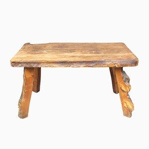 Vintage Solid Elm Table