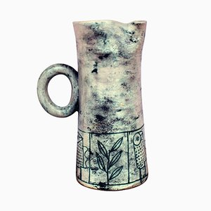 Vintage Ceramic Jug by Jacques Blin