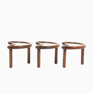 Italian Coffee Tables, 1950s, Set of 3