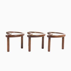 Tables Basses, Italie, 1950s, Set de 3