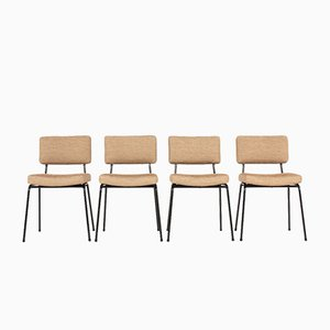 Side Chairs from Airborne, 1950s, Set of 4