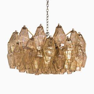 Mid-Century Deckenlampe von Carlo Scarpa für Venini