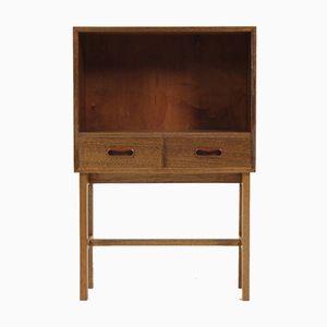 Danish Solid Teak Cabinet, 1960s