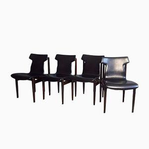 IK Dining Chairs by Inger Klingenberg for Fristho, 1960s, Set of 4