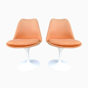 Mid-Century Tulip Chairs by Eero Saarinen for Knoll Inc, 1950s, Set of 2