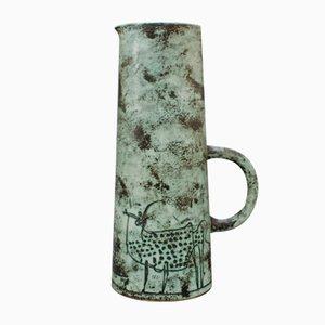 Brocca in ceramica di Jacques Blin, anni '50