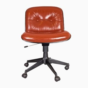 Swivel Office Chair by Ico & Luisa Parisi for MIM Roma, 1950s