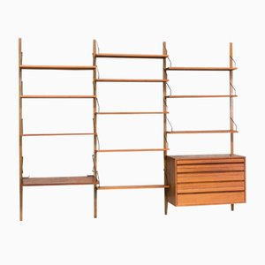 Danish Shelving System by Poul Cadovius for Royal System, 1960s