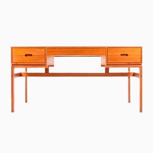 Bureau en Teck par Arne Wahl Iversen pour Vinde Møbelfabrik, 1960s