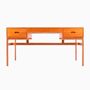 Teak Schreibtisch von Arne Wahl Iversen für Vinde Møbelfabrik, 1960er