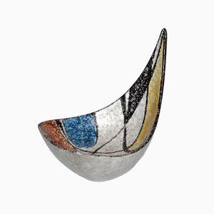 Mid-Century Keramik Schale von Ruscha