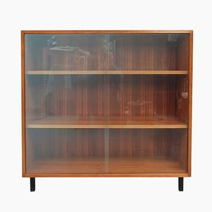Walnut Bookshelf/Cabinet 1960s