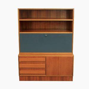 2-Part Walnut Cabinet, 1960s