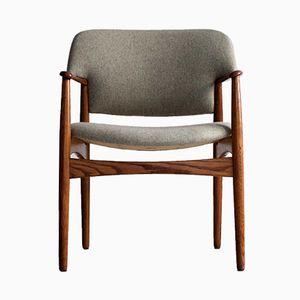 Armchair by Enjar Larsen & Aksel Bender for Fritz Hansen, 1960s