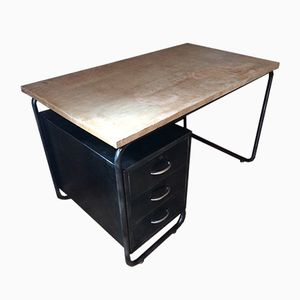 Mid-Century Industrial Desk