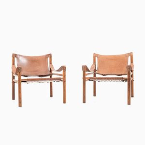 Sirocco Armchairs by Arne Norell, 1960s, Set of 2