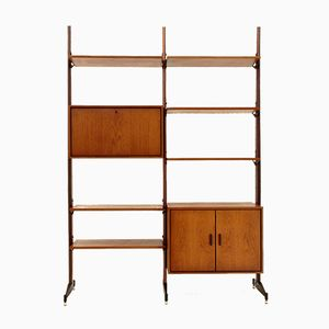 Italian Teak Bookcase, 1960s