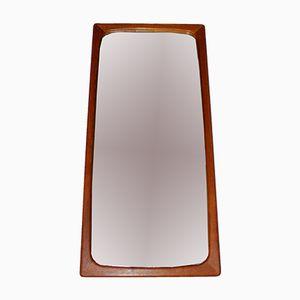 Specchio Mid-Century in teak intagliato, Svezia