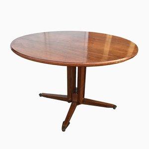 Tavolo da pranzo vintage in legno di Guglielmo Ulrich